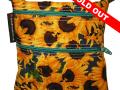sunflowers-green-zipper-sold